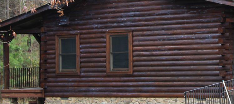 North Carolina Log Home Maintenance Mount Mourne, North Carolina