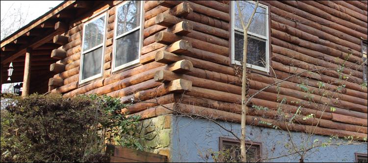 North Carolina Log Home Maintenance Olin, North Carolina