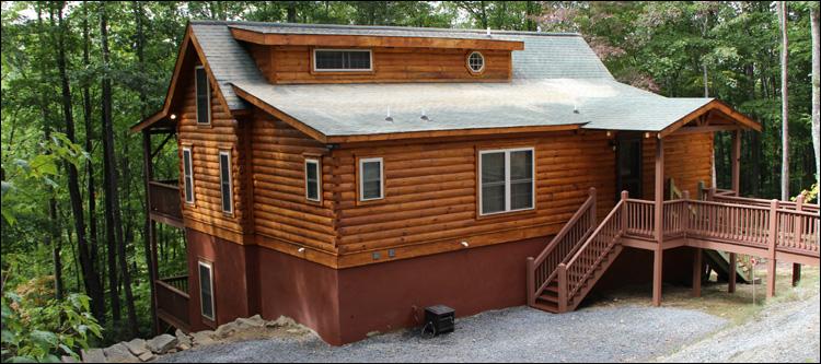 North Carolina Log Home Maintenance Barium Springs, North Carolina